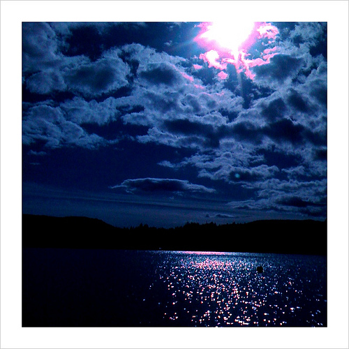 Sun in Shawnigan